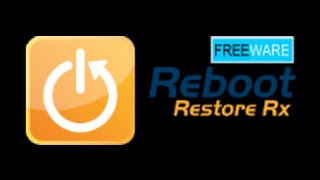 uPDATE - Reboot Restore Rx - Now works with Windows 10 - Deep Freeze Alternative - Review and Demo