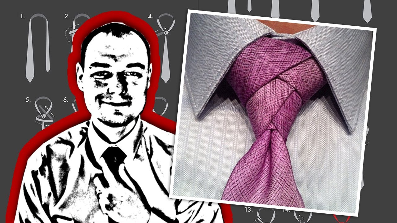 How to tie a necktie eldredge knot youtube ccuart Image collections