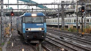 2019/10/29 【単機回送】 JR貨物 EH200-9 大宮駅 | JR Freight: EH200-9 at Omiya