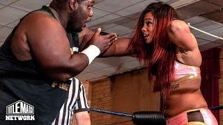Download Kaci Lennox vs Tyree Taylor vs Mike Harvey (Intergender Wrestling) Women of Warriors Mp3 and Videos