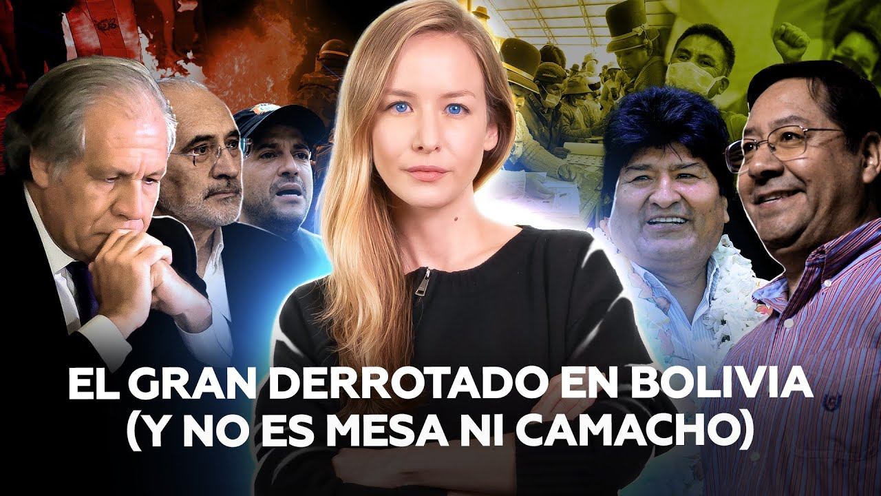 Bolivia: el partido de Evo arrasa en las elecciones (y deja en evidencia a la OEA y Luis Almagro)