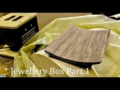 How To Make A WOODWORK MOULD - Jewellery Box Pt 1 - SE Woodwork