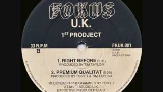 Tim Taylor (First Prodject) - Right Before
