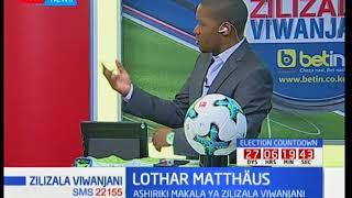 Lothar Matthäus alishiriki kombe la dunia 1990/94: Zilizala viwanjani thumbnail