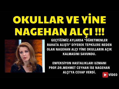 Okullar ve yine Nagehan Alçı !!! -  Alçı okulların açılmasını savundu. Mehmet Ceyhan Hoca açıkladı.