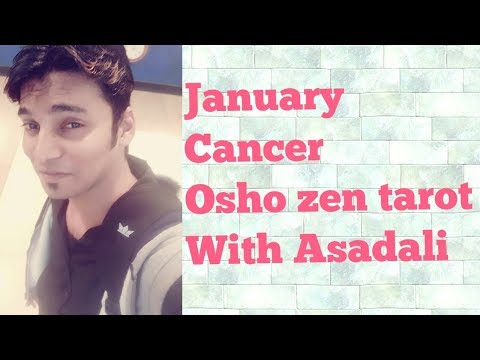 Cancer January 2018 with Asadali - Travelling on chart with Success