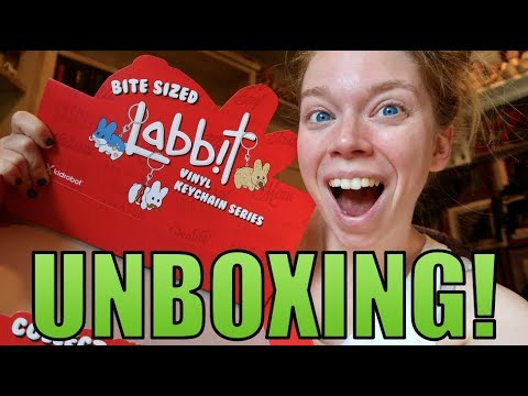 UNBOXING BITE-SIZED LABBITS! - MYSTERY UNBOXING!