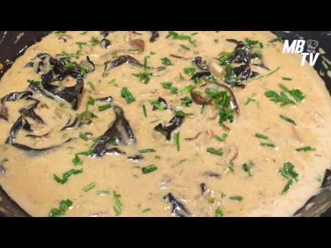 sauce-aux-champignons---sauce-aux-cèpes-et-trompettes