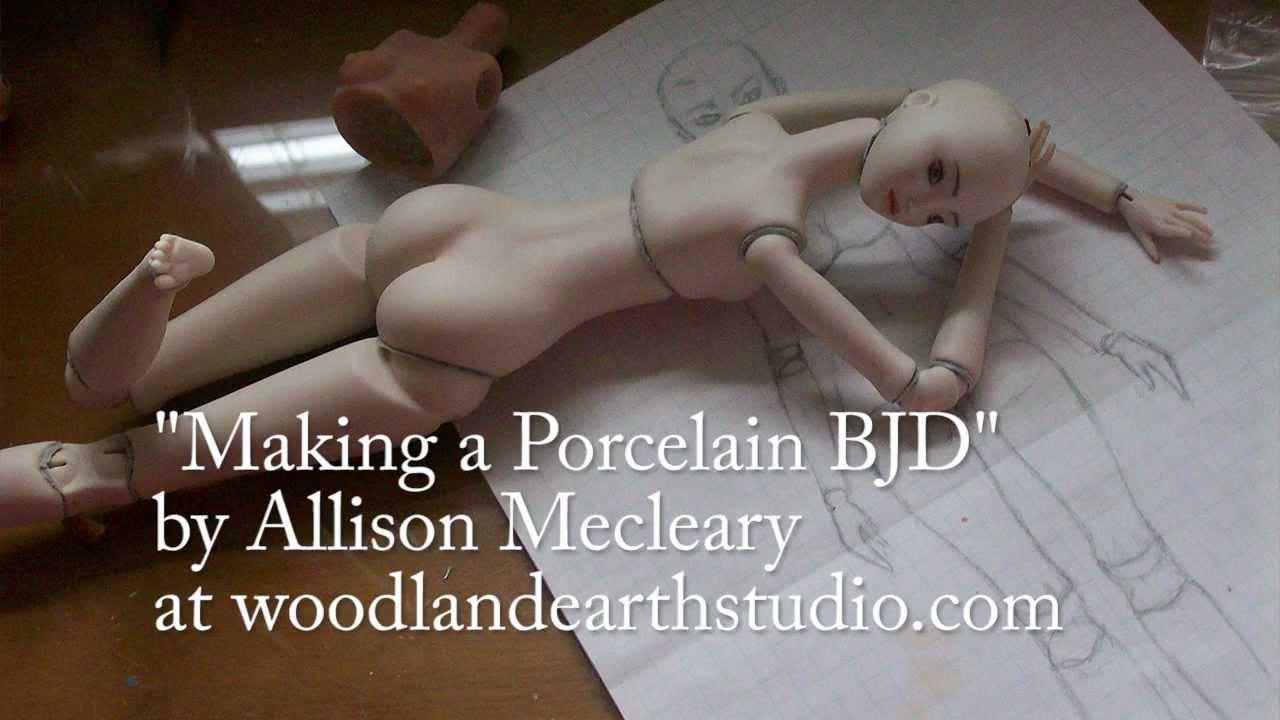 Making a Porcelain BJD FREE tutorial - YouTube