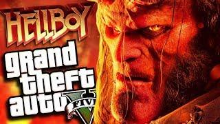 The NEW HELLBOY Movie MOD (GTA 5 PC Mods Gameplay)
