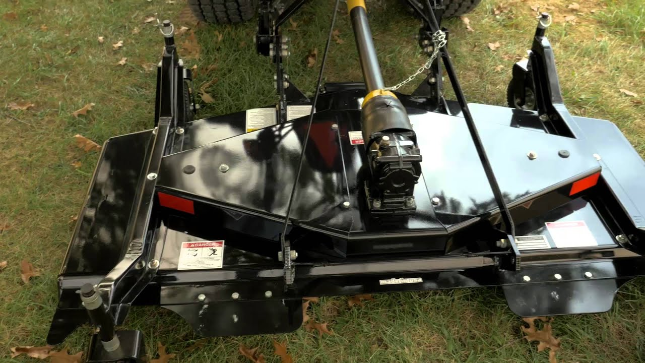 HD Finish Mower - ABI Attachments