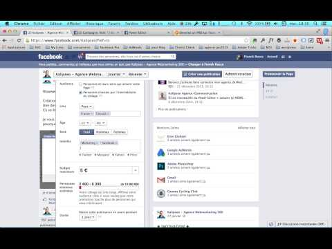Pourquoi ne pas utiliser le bouton stimuler la publication ? Facebook marketing et publicité