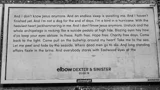 Смотреть клип Elbow - Dexter & Sinister