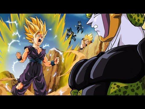 Gohan vs Cell (Full Fight) HD