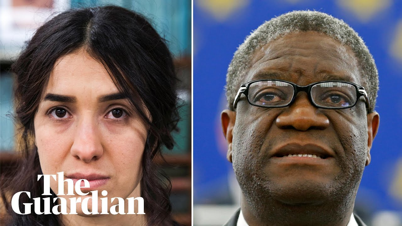 Nobel peace prize 2018 winners - Denis Mukwege and Nadia Murad?