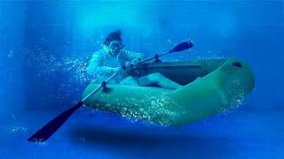 Получится ли подводная лодка, если накачать водой обычную?