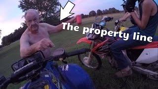 Old Man Tries To Kick Kids Off Their Own Land!