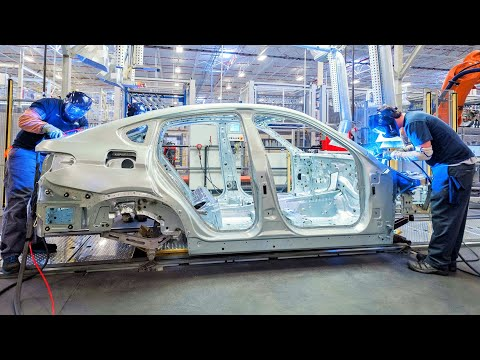BMW Spartanburg Welding Body Shop