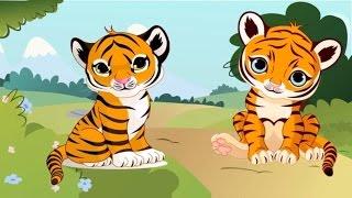 Dạy bé học nói con vật trong rừng   em tập nói tiếng kêu động vật đáng yêu   dạy trẻ thông minh sớm