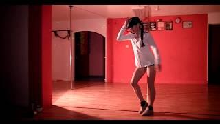 Танец на шесте под Майкла Джексона. Альбина Бунегина
