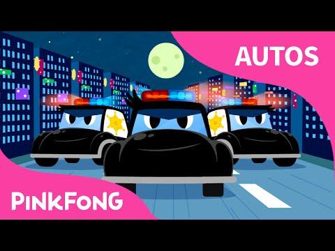 Patrulla   Autos   PINKFONG Canciones Infantiles