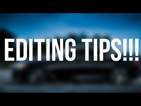 HOW TO EDIT BETTER!! (EDITING TIPS) thumbnail