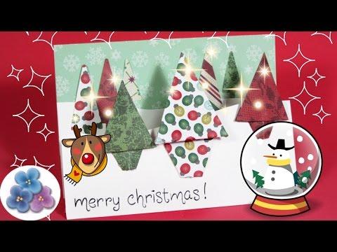 Tarjetas de navidad scrapbook en 3d origianels y creativas - Como hacer tarjetas de navidad faciles ...