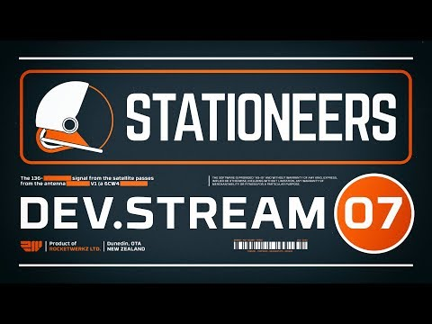 Stationeers Dev Stream 07 - Underground Bases