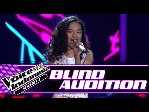 Maysha - Losing My Religion | Blind Auditions | The Voice Kids Indonesia Season 3 GTV 2018