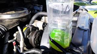 How to get rid of the trapped air in coolant system.