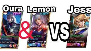 Oura, kagura Lemon VS Jess No Hair
