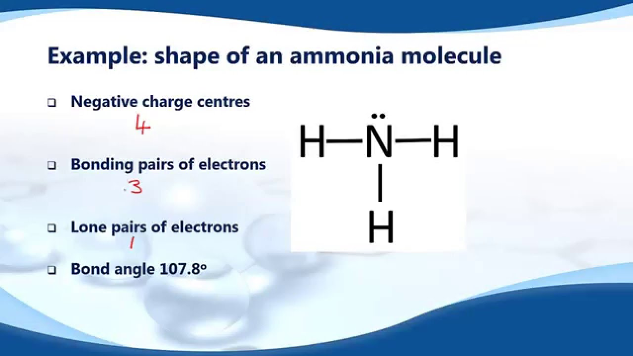 how to work out bond angles chemistry