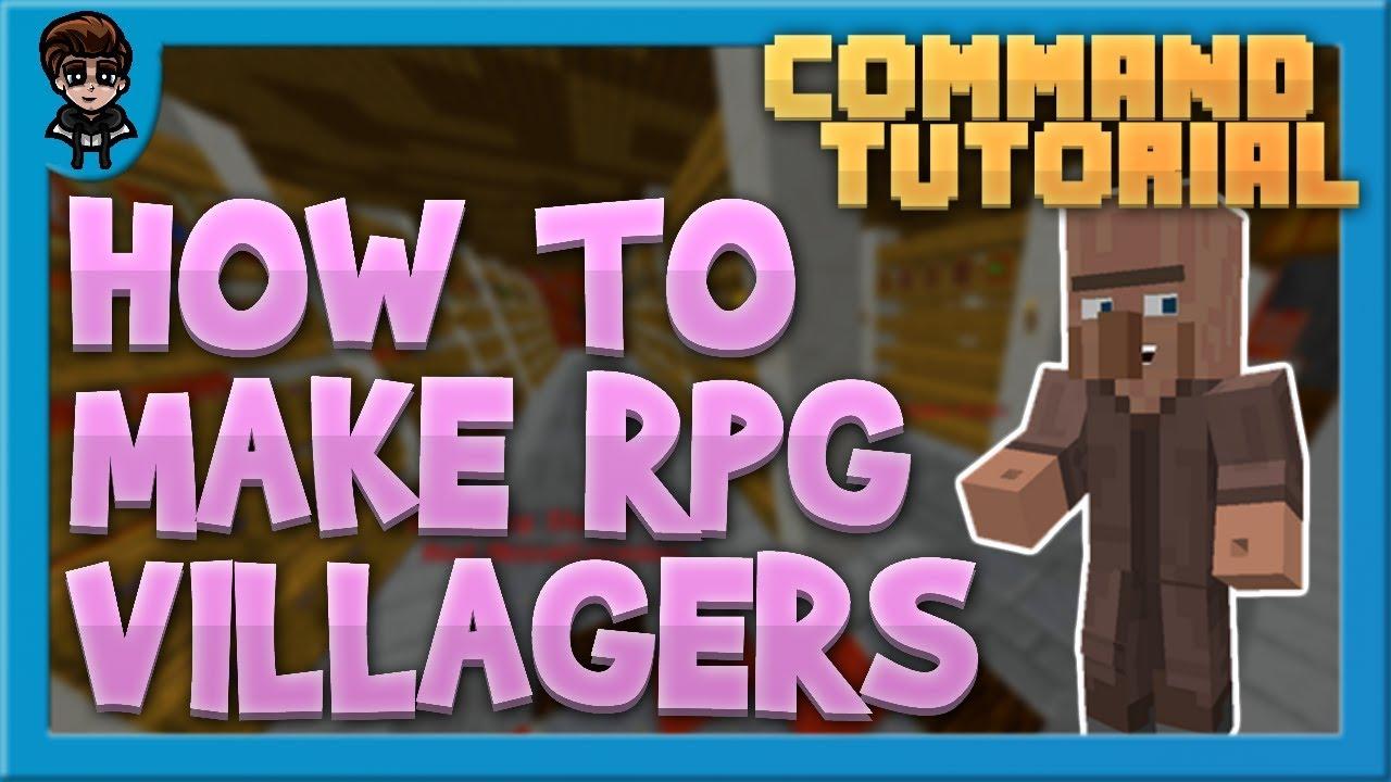 RPG Villagers - BlueCommands