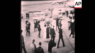 CAN 164 QUEEN JULIANA OF THE NETHERLANDS LEAVES FOR MEXICO