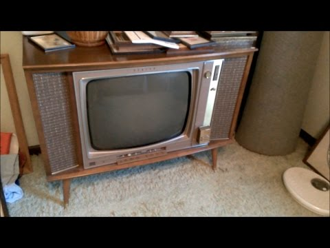Estate Sale: 1960's Zenith & RCA TVs and a 1950's? Freezer