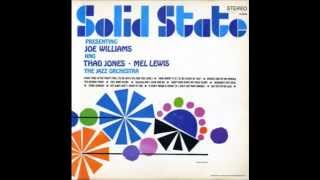 get out of my life woman joe williams with thad jones the mel lewis orchestra 1966