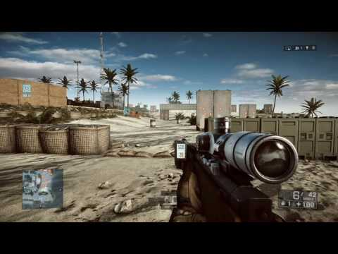 Learning how to shoot a sniper rifle BF4 -HD