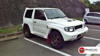 Spotted: A *Bad-ass* Mitsubishi Pajero/Montero Evolution - A rare rally homologation special