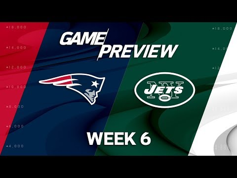 New England Patriots vs. New York Jets | Week 6 Game Preview | NFL Playbook