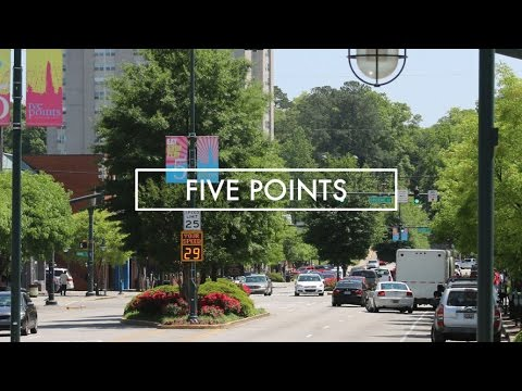 Five Points Area, Columbia SC