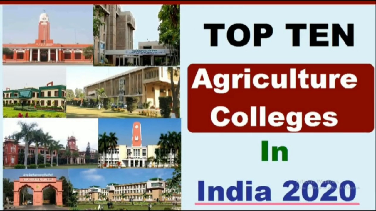Top ten agriculture colleges in india 2020 || Agriculture colleges || Agriculture Iq ||
