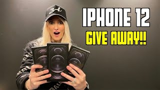 Unboxing New iPhone 12 & Giveaway