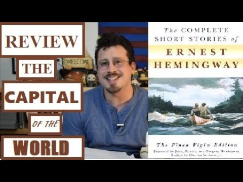 Review- The Capital of the World by Ernest Hemingway