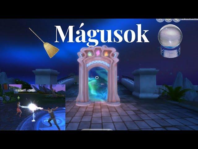 🔮✨ Mágusok (1. rész) 🔮✨Portálon át / Realm of  Magic /The Sims 4