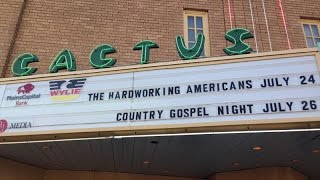 Hard Working Americans, Cactus Theater, Lubbock, Texas, July 24, 2014