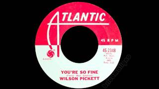 Watch Wilson Pickett Youre So Fine video