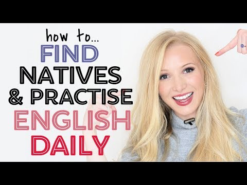 Talk DAILY With Native English Speakers - Easily Find A Speaking Partner!