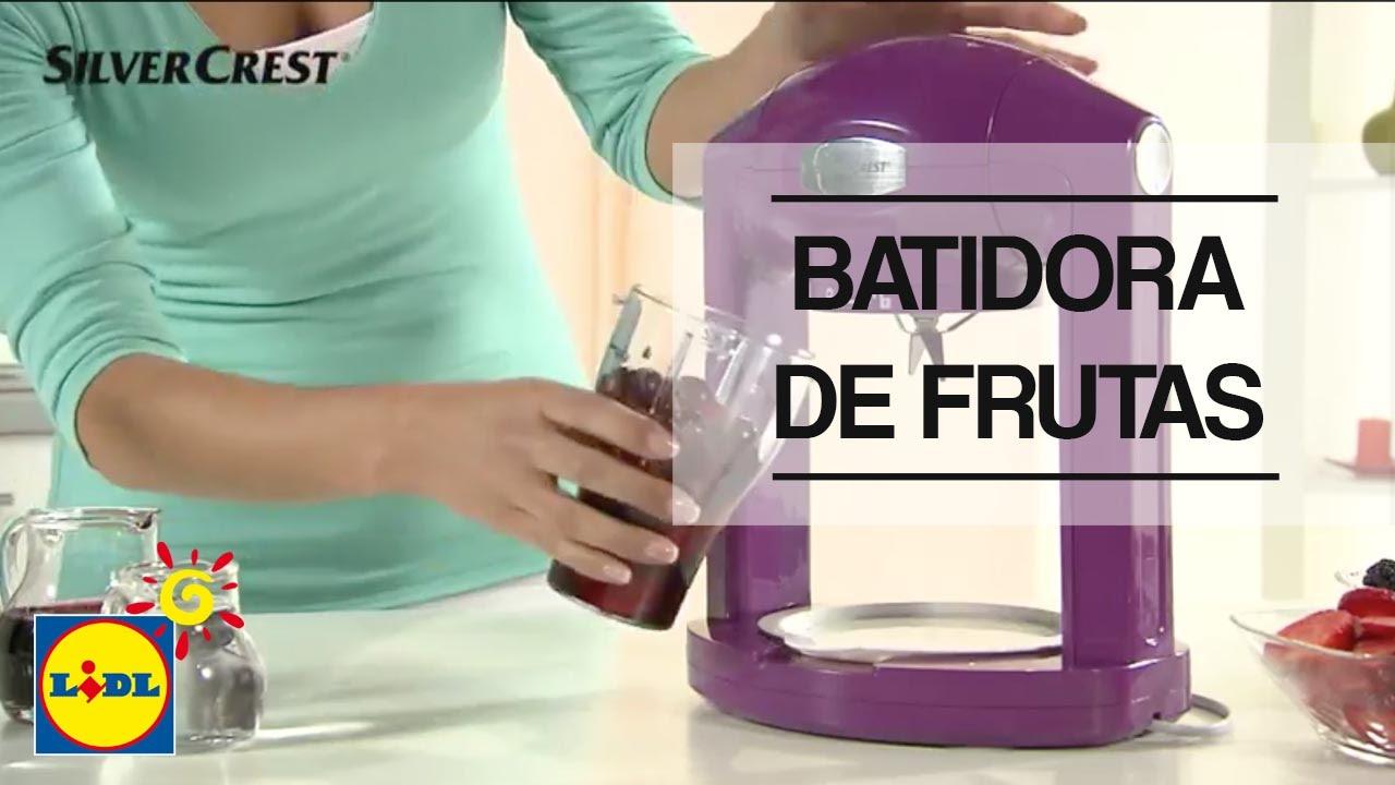 Batidora de frutas lidl espa a youtube - Batidos de frutas ...