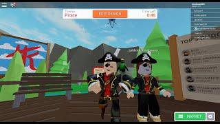 ARR! We are pirates in Design It! Roblox