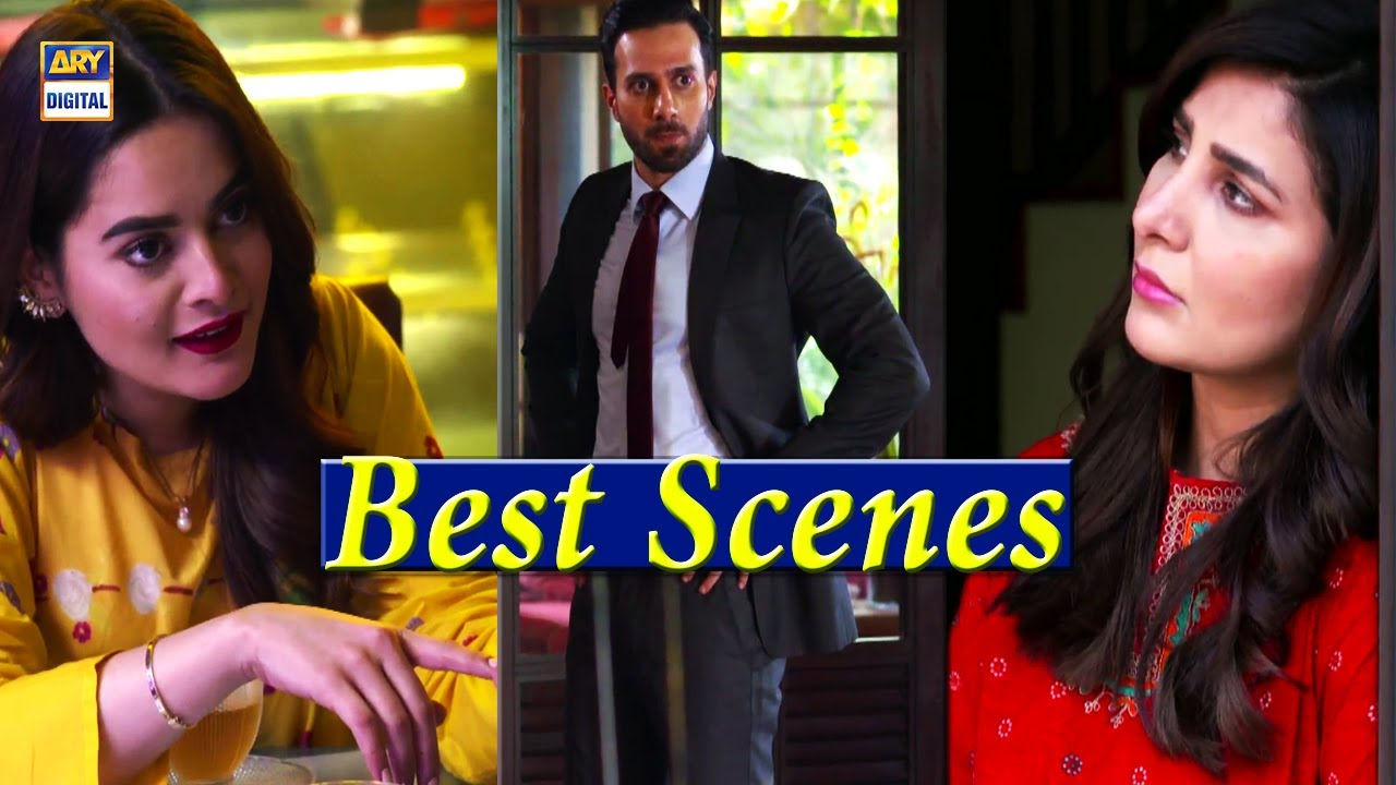 Jalan Episode 8 [Best Scene] Presented By Ariel - Minal Khan & Areeba Habib